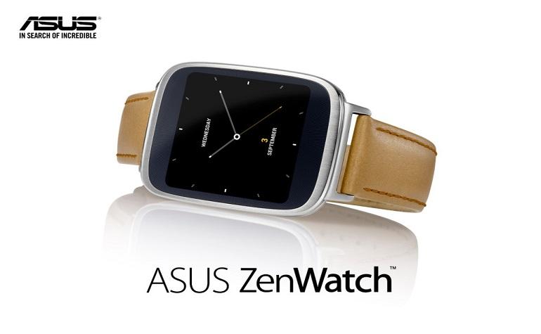 Asus официально представила смарт-часы ZenWatch