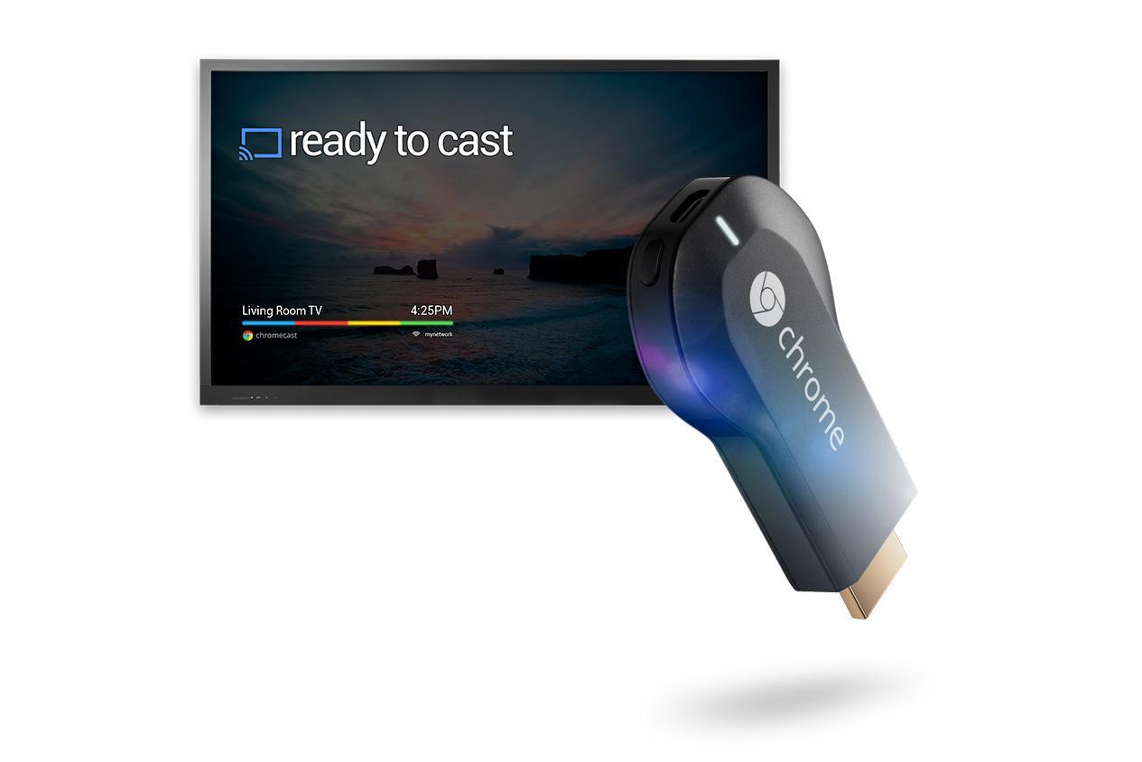 Chromecast начал продажи в России