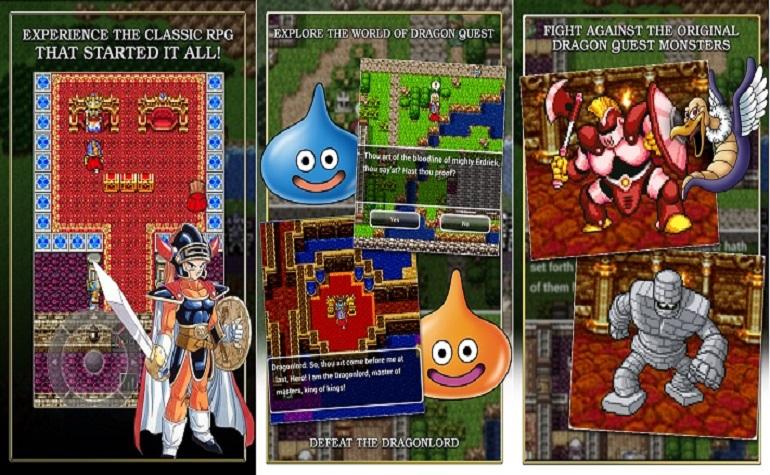 Dragon Quest выходит на Android