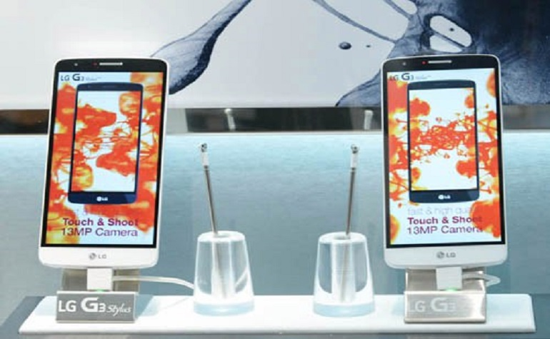 LG выпускает на рынок G 3 Stylus