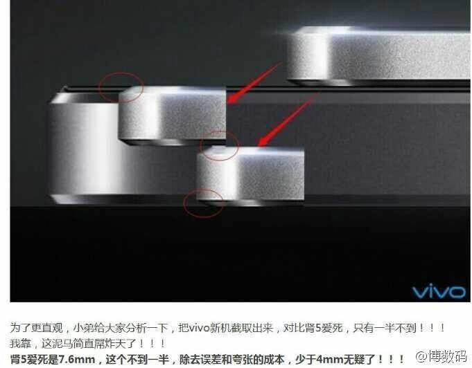 Oppo и Vivo выпускают самые тонкие смартфоны