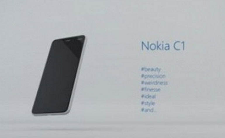 Смартфон Nokia C1 на Android