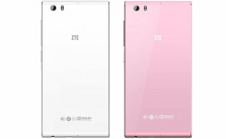 Смартфон ZTE Star 1 в белом и розовом