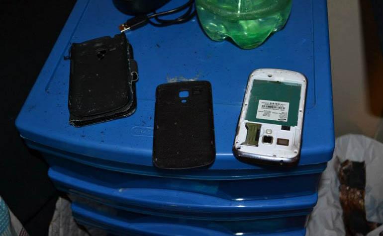 смартфон Samsung Galaxy Ace 2 взорвался