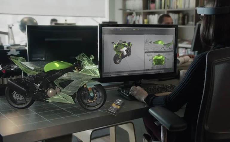 очки дополненной реальности HoloLens