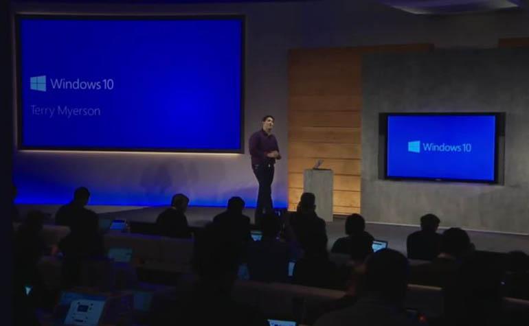 официальная презентацию Windows 10
