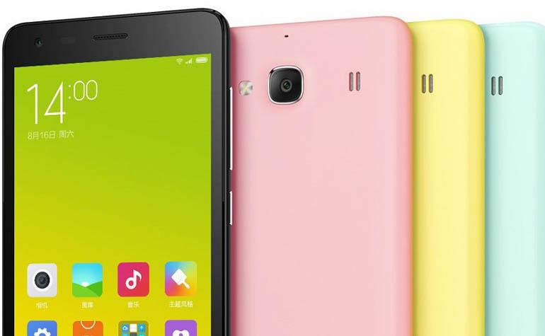 анонсирован новый смартфон Xiaomi Redmi 2