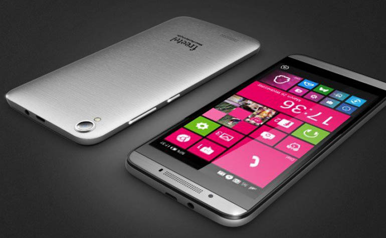 Японский смартфон Freetel на Windows 10