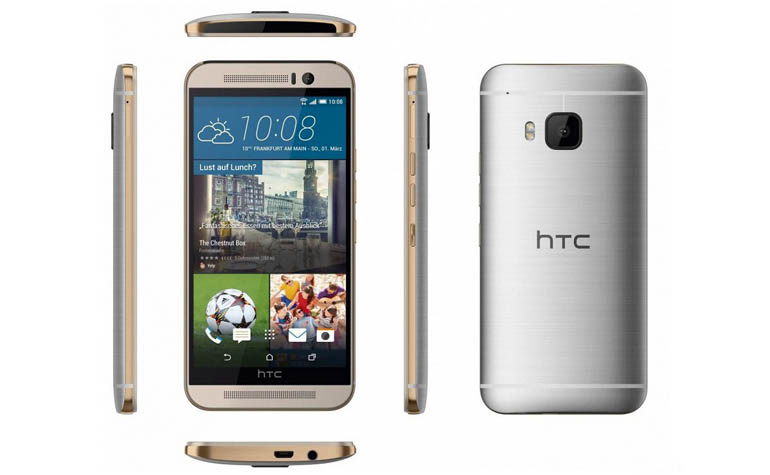 HTC One M9 официальные фотографии
