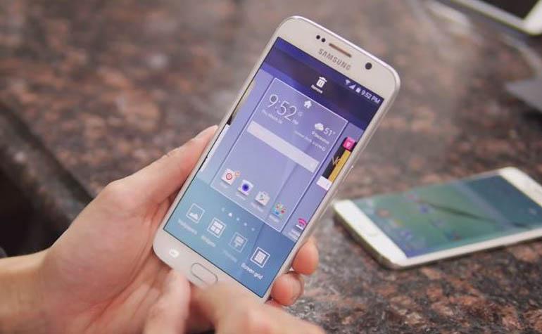 Колем орехи смартфонами Samsung GALAXY S6 edge и GALAXY S6