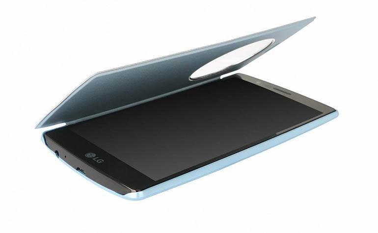 чехол-обложка для LG G4