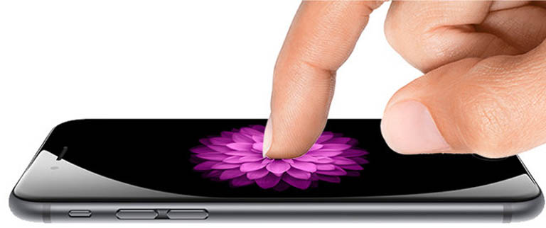 Новая технология Force Touch в iPhone 6s