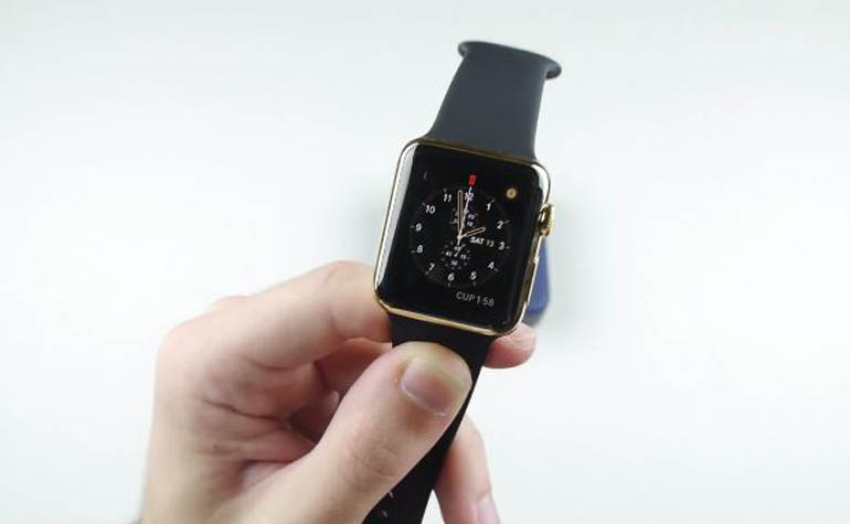 Gold Apple Watch Edition