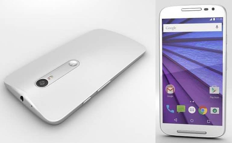 Рендер третьего поколения Motorola Moto G3