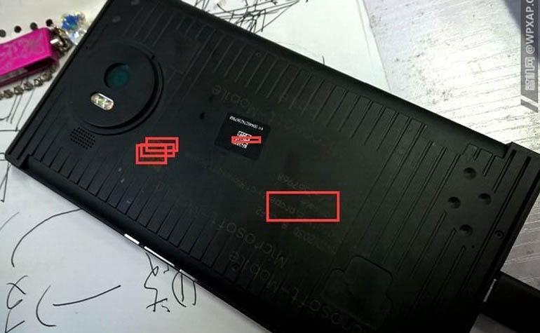 Прототип Lumia 950 XL