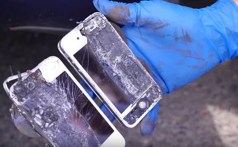 жесткое тестирование iPhone