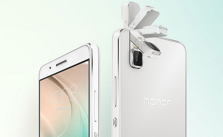 Huawei запускает Honor 7i с интересной камерой для селфи