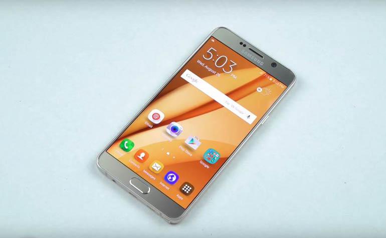 Тест на прочность смартфона Samsung Galaxy Note 5