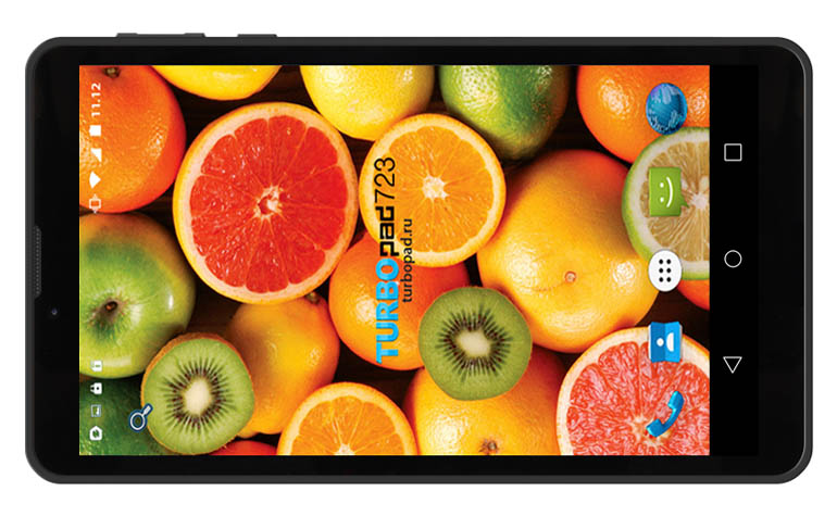 TurboPad 723 – новый планшет на Intel Atom