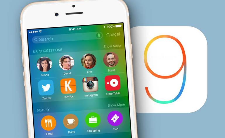 Финальная версия iOS 9