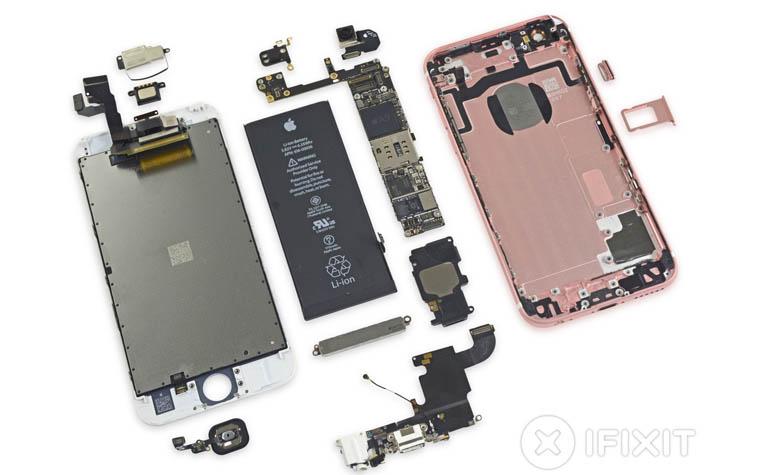 Разборка iPhone 6s
