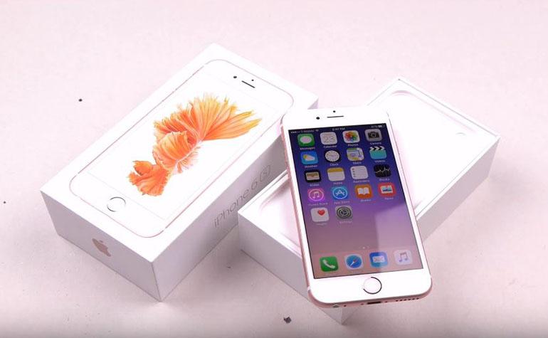 краш тест iPhone 6s с использованием Брома