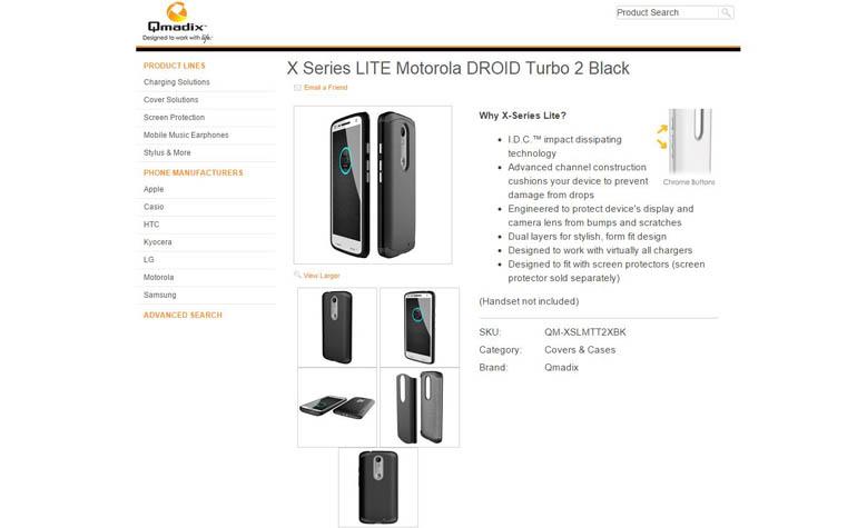 X Series LITE Motorola DROID Turbo 2