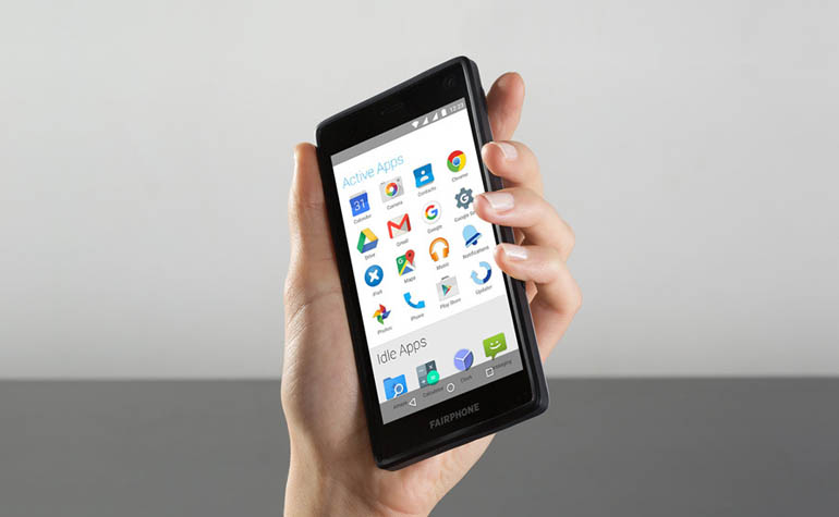 модульный смартфон - Fairphone 2