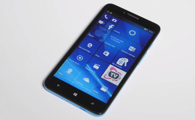 Alcatel OneTouch Fierce XL на Windows 10