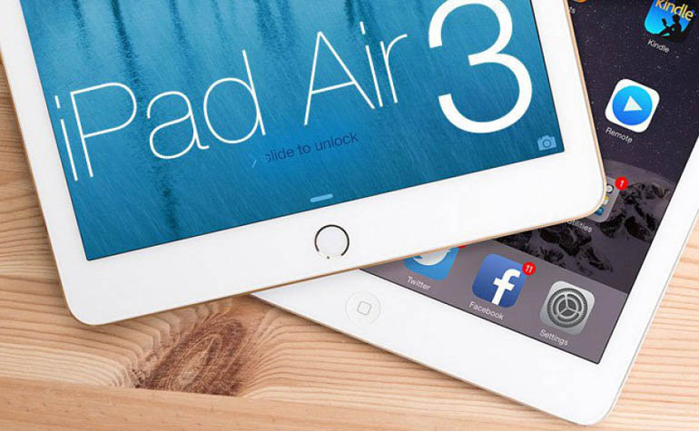 Pad Air 3 - слухи