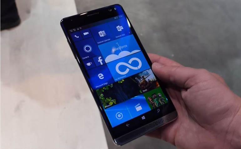 HP Elite X3 - мощный смартфон на Windows 10