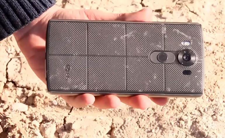 Краш-тест LG V10