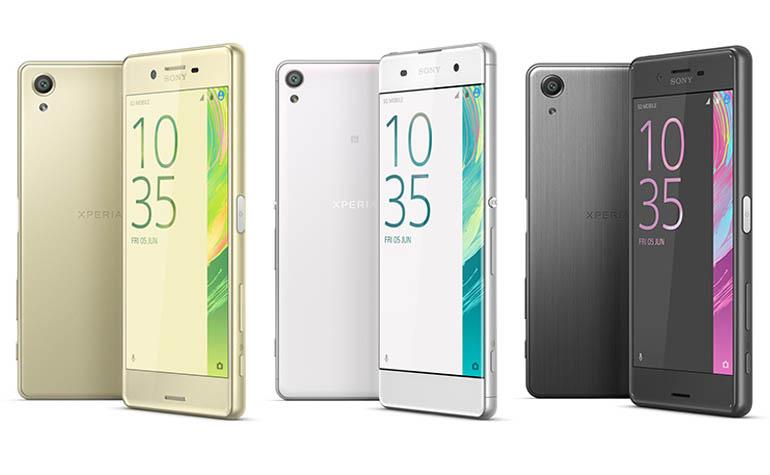 Новые смартфоны Sony линейки Xperia X