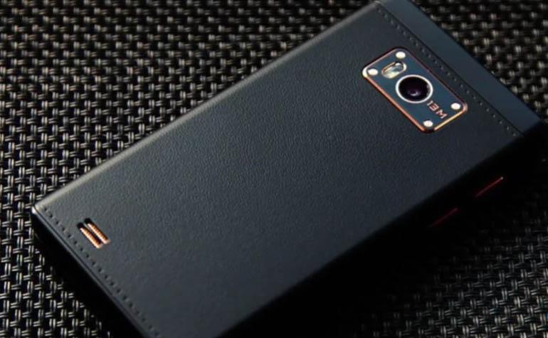 смартфон-раскладушка Gionee W909