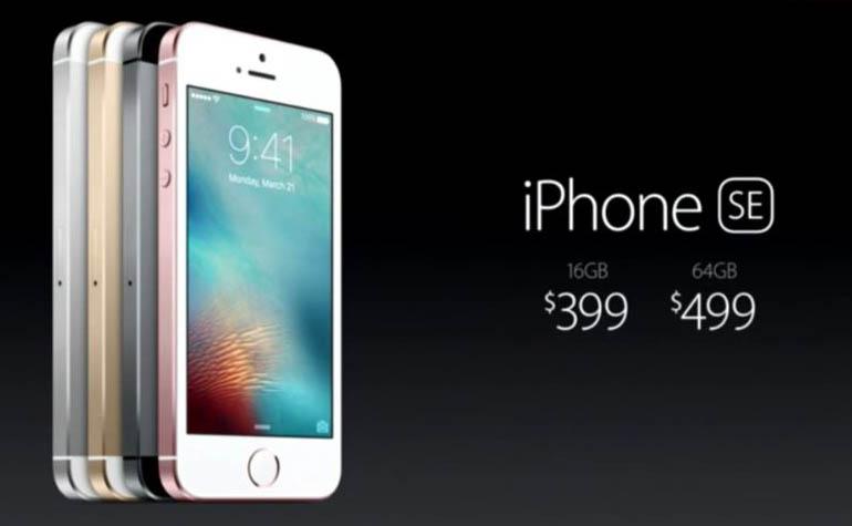 Apple анонсировала новый iPhone SE