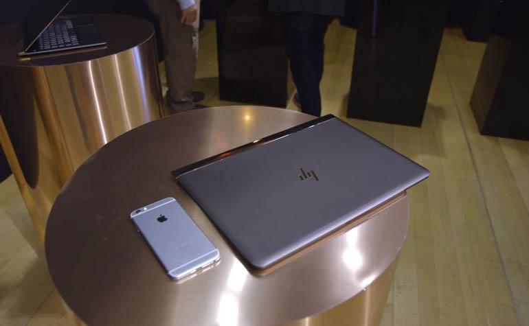 Супертонкий ноутбук HP Spectre 13