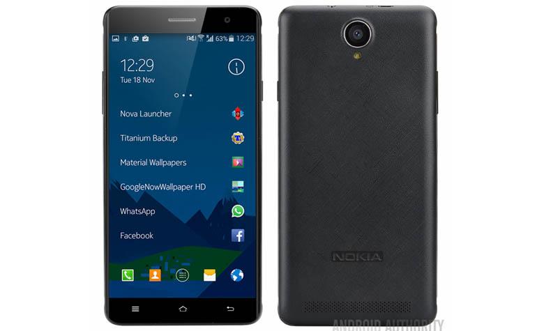 Не анонсированнsq смартфон Nokia A1