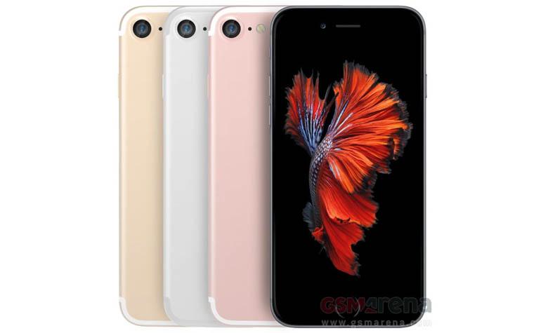 Официальные рендеры iPhone 7
