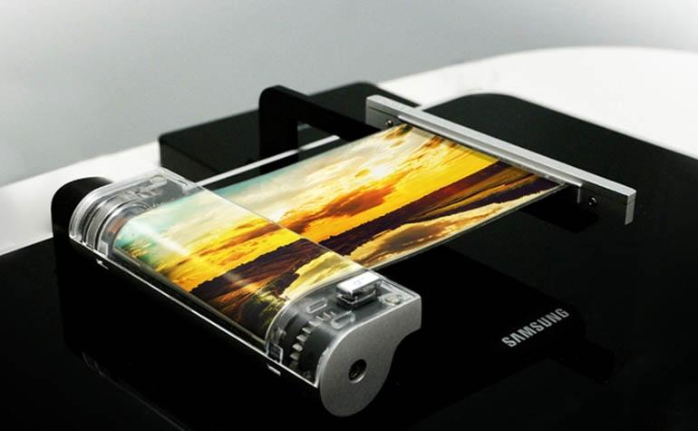 гибкий дисплей от Samsung