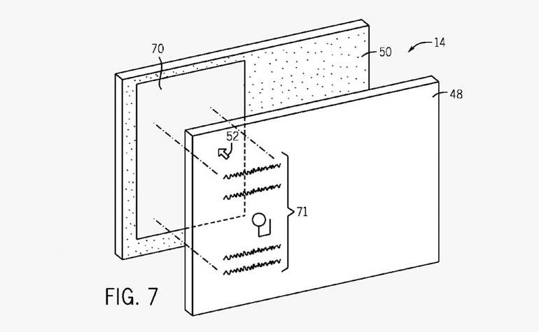 Apple патентует гаджет с прозрачным дисплеем