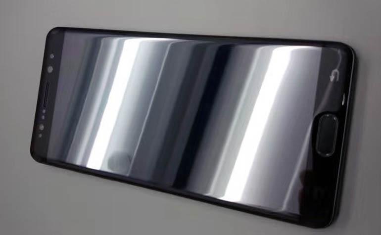 первый живые фото Samsung Galaxy Note 7