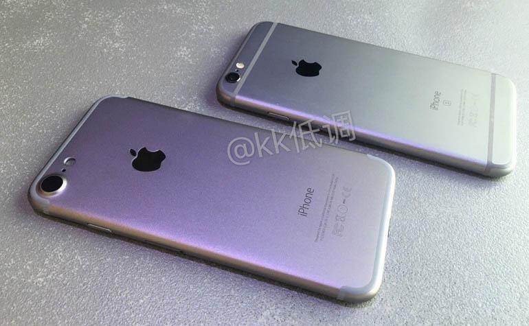 Новая утечка фотографий iPhone 7