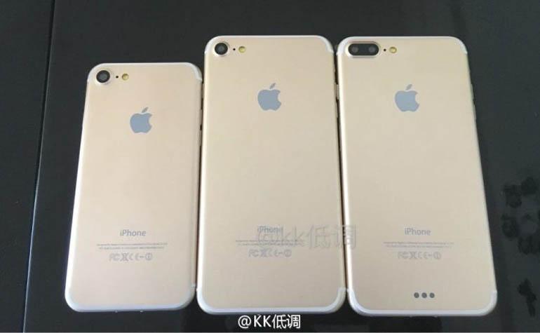инсайдерские фото iPhone 7