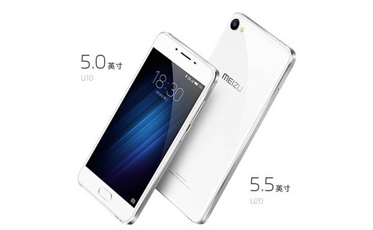 два новых смартфона U10 и U20 от Meizu