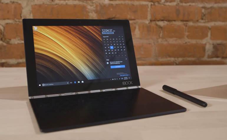 Lenovo Yoga Book - ноутбук, планшет, и многое другое