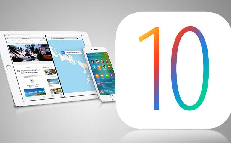 Новая яблочная iOS 10