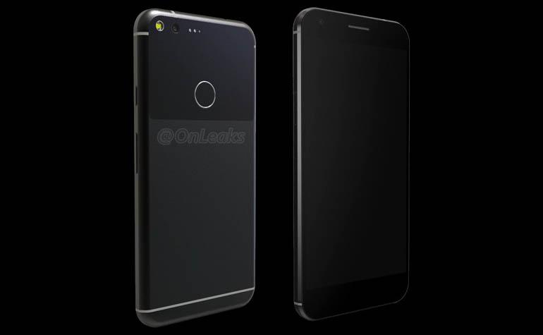 Рендер смартфона Google Pixel XL