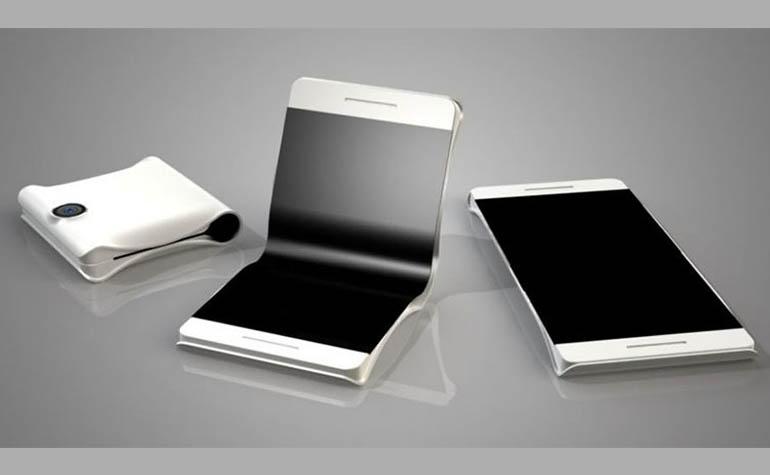 Новый патент Apple - складной iPhone