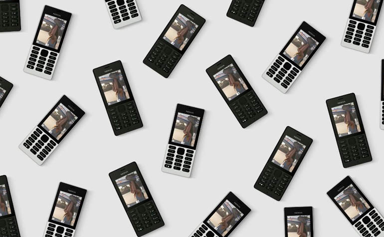 новый кнопочный телефон - Nokia 150