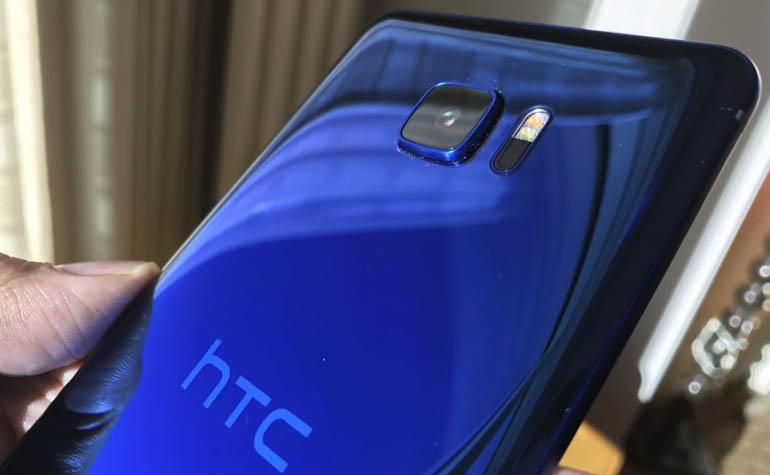 новый смартфон компании HTC - HTC U Ultra